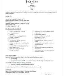 new grad nursing resume template new graduate nursing resume template all about letter exles
