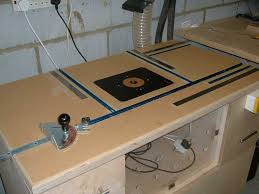 diy routing table router table