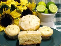 white chocolate key lime muffins or cake recipe