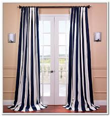 White And Navy Striped Curtains Patio Navy Striped Curtains Affordable Modern Home Decor Navy