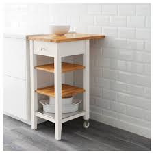 stenstorp kitchen trolley white oak 45x43x90 cm ikea