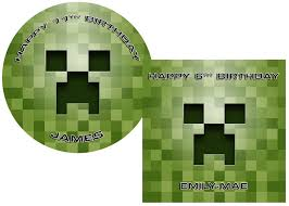 minecraft cake topper minecraft creeper cake topper cake toppers