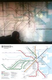 Boston Transit Map Boston Transit Map Used In U201cthe Last Of Us U201d Without Permission Or