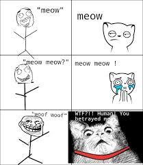 Rage Comics Meme - cat troll the first rage comic i actually made hope you like