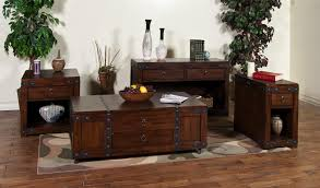 coffee table w lift top drawer u0026 casters by sunny designs