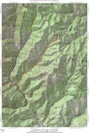 Utah Topo Maps by Bear Canyon To Salt Creek Canyon