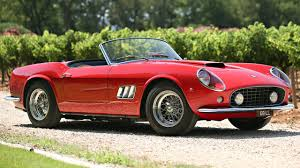 ferrari classic will this ferrari 250 gt california spider fetch 18m top gear