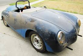old porsche speedster 1957 porsche speedster u0027barn find u0027 uncovered by classiccars com
