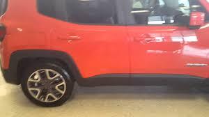 jeep renegade orange 2016 orange jeep renegade youtube
