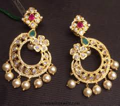design of earrings jhumka style earrings designs for women of 2016