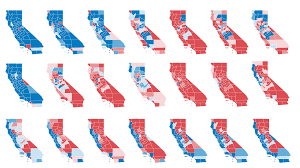 Map Of Red And Blue States by After Decades Of Republican Victories Here U0027s How California