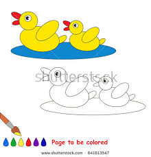 planet jupiter colored coloring book stock vector 628282028