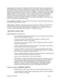 reseller contract template reseller agreement