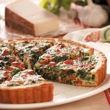 Quiche Recipe Ina Garten Pepperoni Spinach Quiche Recipe Keeprecipes Your Universal