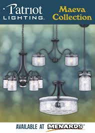patriot lighting miner collection the patriot lighting maeva lighting collection offers a