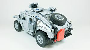 lego army jeep instructions humvee m1114 mk bricks