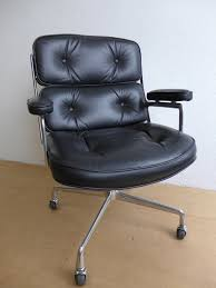 Eames Leather Chair Ray And Charles Eames Time Life Office Chair U2013 Den Møbler