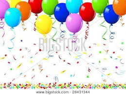 Realistic vector illustration of a shiny balloons Poster ID28431344