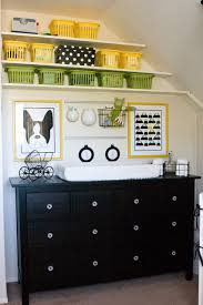 White Changing Tables For Nursery Fabulous Contemporary Nursery Black And White Is Changing Table