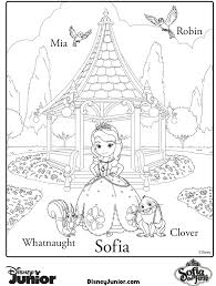 sofia coloring pages printable coloring pages