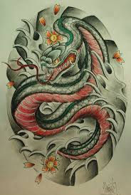 snake tiger tattoo 47 best snake images on pinterest japanese tattoos tattoo ideas