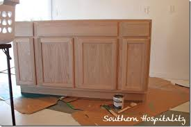 Lowes Bathroom Cabinets Wall Lowe U0027s Unfinished Oak Cabinets And For Those Asking Painting The