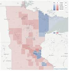 Election 2016 Map by Map Monday Minnesota 2016 Presidential Election Results Streets Mn