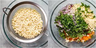 israeli couscous salad with chickpeas u2022 salt u0026 lavender