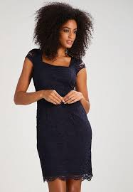 latest fashion shift dress navy online clothing sale