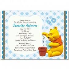 winnie pooh baby shower invitations templates free