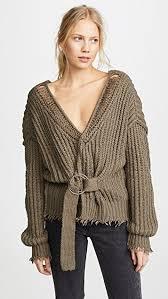 wrap sweater top wildfox citadel wrap sweater shopbop