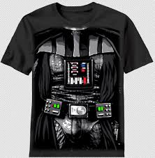 kids halloween t shirts new star wars darth vader body armor dark costume