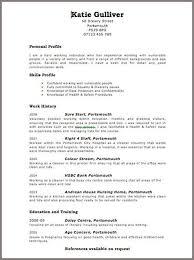 cv uk cool exle cv format uk contemporary resume ideas namanasa