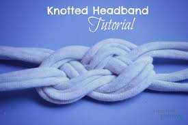 knotted headband diy t shirt knotted headband tutorial
