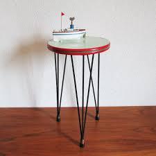 Tripod Side Table Hairpin Tripod Vintage Side Table U2013 Artichoke Vintage Furniture