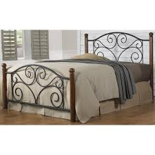 Wood And Iron Bed Frames Sleeping Below The Trees With Iron Bed Frame Bedroom Low Foot End