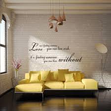 dsu romantic words english quote art love wall sticker black in dsu romantic words english quote art love wall sticker black