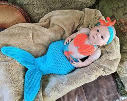 Baby Mermaid Halloween Costume Baby Mermaid Etsy