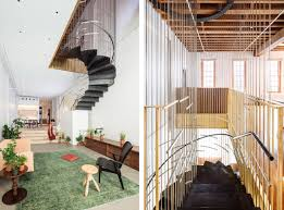 Architectural Stairs Design In Tribeca S Raft Loft A Hanging Architectural Staircase Joins