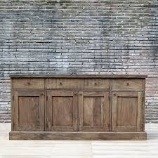 antique french country distress sideboard server outdoor