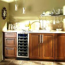 built kitchen cabinets introducing 3 great ways to built in wine