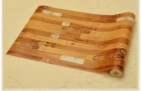 retro wood design wallpaper for bedroom living room study bar in