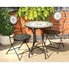 outdoor mosaic bistro table mosaic table and chair outdoor west elm mosaic tiled bistro outdoor