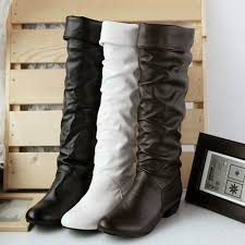 womens boots large sizes popular knee high boots flat heel buy cheap knee high boots flat