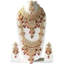 beautiful necklace gold images Buy most beautiful crystals gold plated kundan zerconic complete jpg
