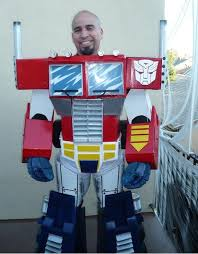 optimus prime costume 17 steps with pictures