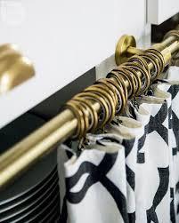 Kitchen Cabinet Curtains Trellis Print Under Cabinet Curtains Design Ideas