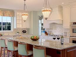 granite countertop kitchen yellow walls white cabinets coleman
