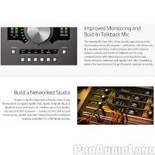 universal audio apollo twin mkii quad thunderbolt recording studio