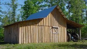 building an old fashioned pole barn pt 6 the farm hand u0027s